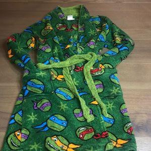 Boys teenage mutant ninja turtles robe